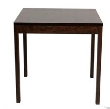 Wooden 4 Leg Dining Table Base 76cm Square